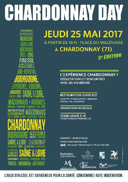 Le Chardonnay Day le 4ème jeudi de mai.